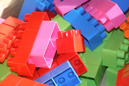 build, building blocks, lego, toys, children, play, lego stones