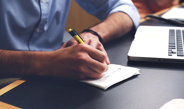escriure, Pla, negoci, Posada en marxa, Posada en marxa, llibretes, creatiu