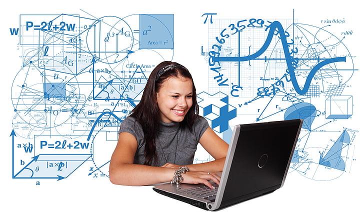 učiť sa, škola, študent, matematika, fyzika, vzdelávanie, doska
