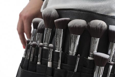 化妆刷, 笔刷, 画笔集, 化妆, 化妆, 化妆品, 艺术家