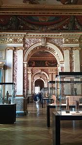 Louvre, Pariis, Prantsusmaa, ehitud, uks, Silver, filigraan