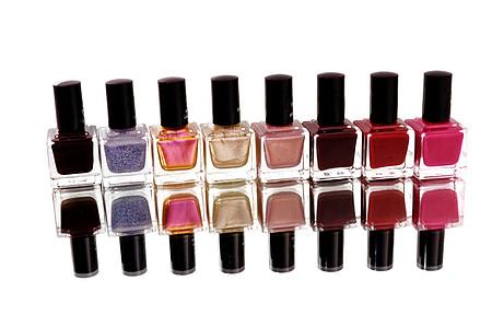 vernís d'ungles, pintura, dit del peu ungles, ungles, sensual, manicura, ungles