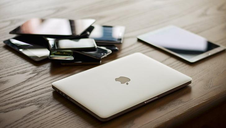 naprave, Mac, sporočilo, tehnologija, prenosni računalnik
