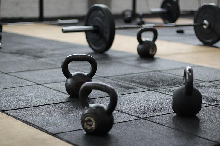 hanteles, svars, svars pacelšanas, sporta aprīkojums, Sports, kg, dzelzs