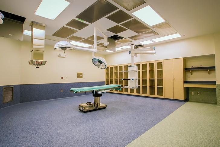 hoạt động, Phòng, phẫu thuật, Sạch sẽ, mới, Bàn, bệnh nhân