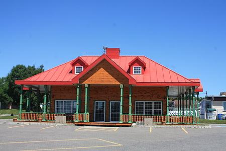 quebec, building, roof, architecture, canada