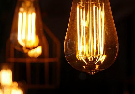 glödlampa, idén, glödlampa idé, glödlampa, ljus, ljusa, energi