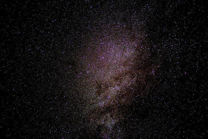 Mælkevejen, stjernehimmel, Star, galakser, nattehimlen, Center, astrofotografering