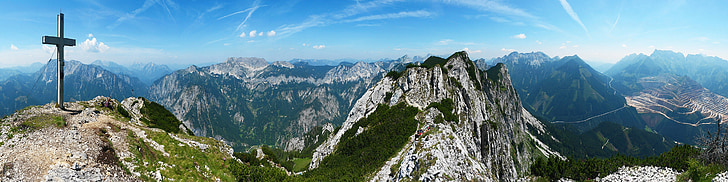 muntanyes, Alps, panoràmica