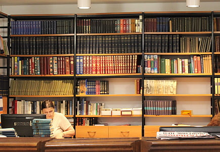 library, rack, books, shelves, newspaper, shelving, reading
