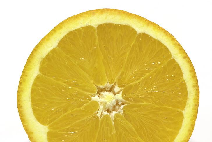 taronja, fruita, aliments, cítrics, frescor, llesca, madures