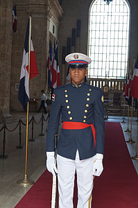 soldier, dominican republic, guard, honor Guard, armed Forces, military, uniform