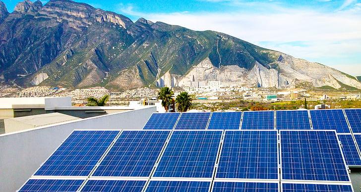 solar, energia, fotovoltaiques, poder, alternativa, medi ambient, sol