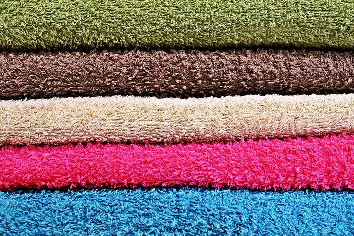 háttér, törölköző, színes, szín, törölköző, száraz, textil