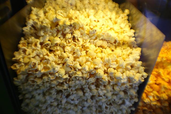 popcorn, maitsestatud, kommipoest, maitse, toidu, suupiste