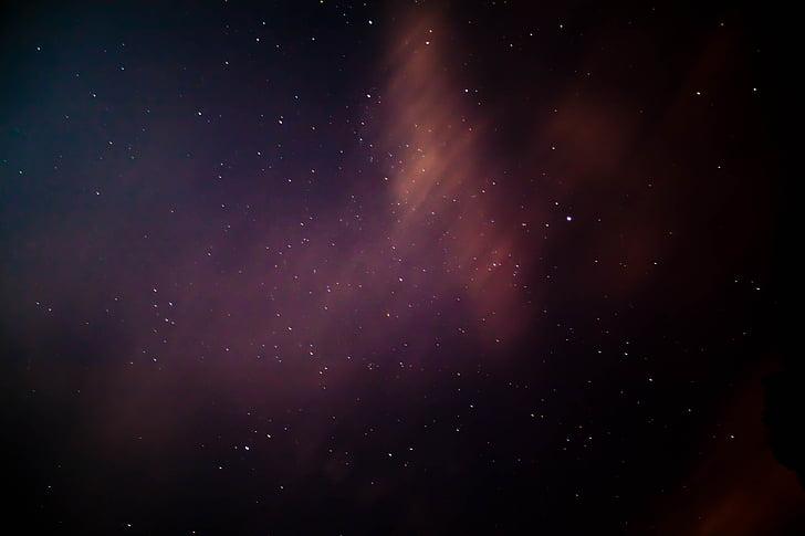 Mælkevejen, nightsky, stjerner, nat, Nebula