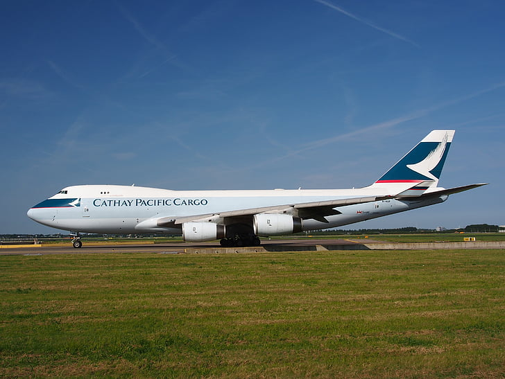 Boeing 747, Cathay pacific, jumbo jet, avion, avion, aéroport le plus pratique, transport