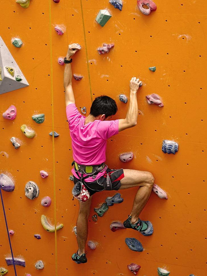 kāpšana, virve, rappelling, sienas, klints, Extreme, Sports
