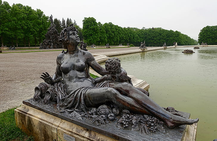 statue, marble, sculpture, antique, figure, historical, mythology