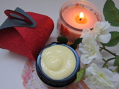 皮肤护理, 自然, 化妆品, 乳液, 护肤, 面部护理, 奶油