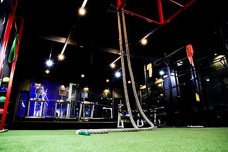 Cross fit, santé, salle de gym, exercice, pour fixation, Pitti