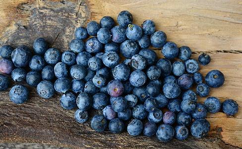 borówki, jagody, owoce, owoce, jagoda, niebieski, zdrowe