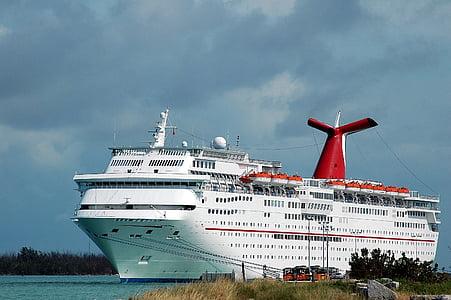kryssningsfartyg, fartyg, semester, turism, resor, transport, Ocean