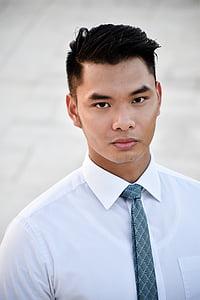 asian, man, business man, portrait, mormon, men, one Person