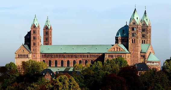 Dom, Speyer, chrześcijańskie, Niemcy, Dom modlitwy, Kościół, religia