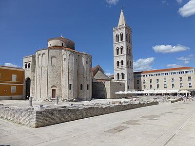 Zadar, Kroatien, Dalmatien, Domkyrkan, arkitektur, kyrkan, berömda place