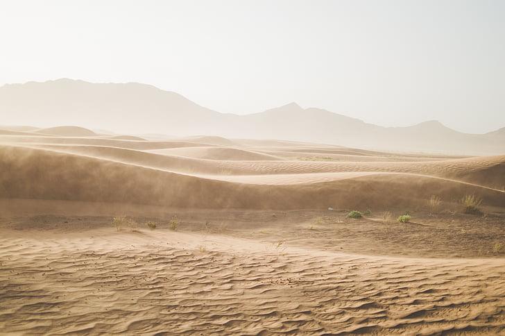 deserto, montanha, areia, dunas de areia, paisagem, natureza, ao ar livre