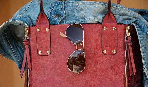 袋, 太阳镜, 夹克, 服装, 时尚