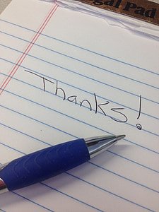 Gràcies, apreciació, gratitud, tipus de lletra, apreciar, missatge, ploma