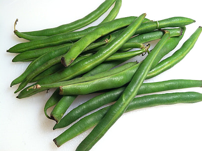 groene bonen, bonen, vers, RAW, groen