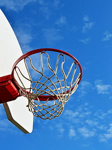 céu, desporto, jogo, jogar, recreação, ao ar livre, Tribunal