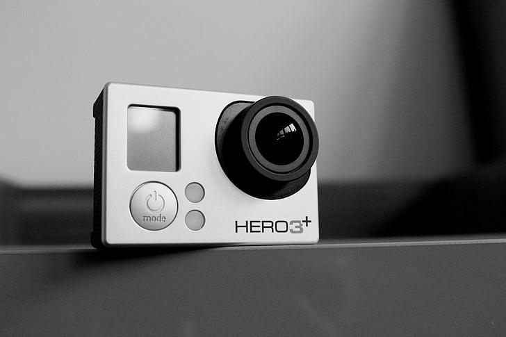 GoPro, càmera, vídeo, tecnologia, gadget de, equips, pel. lícula