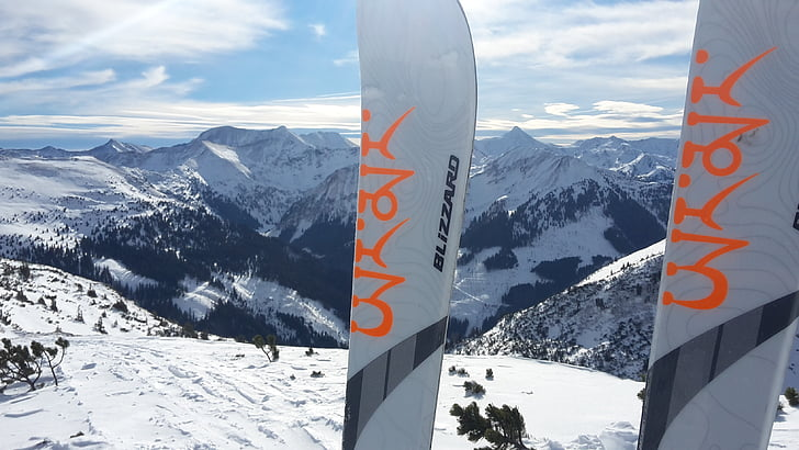 neu, pistes d'esquí, esquí de muntanya, alpí, esquís de muntanya