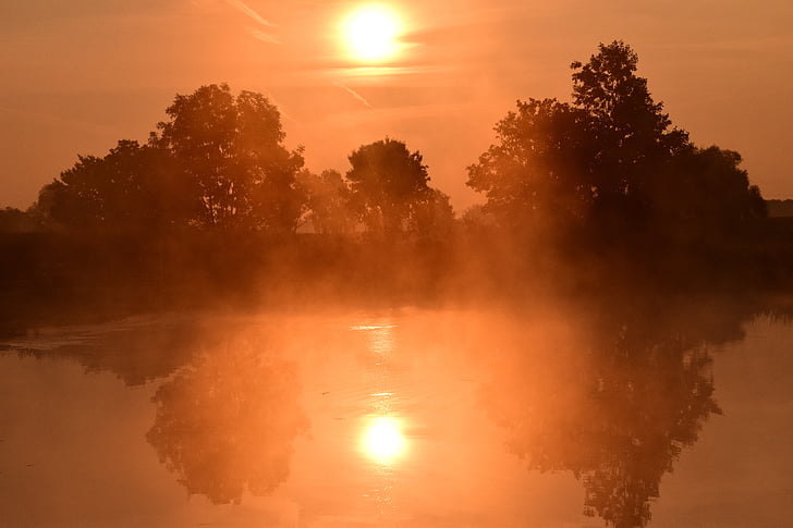 soluppgång, Dessutom, Skies, solen, Sky, Dawn, ljus