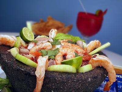 marisc, gambes, fresc, aliments, gurmet, deliciós, Restaurant