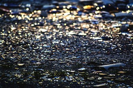 ガラスの破片, パターン, 太陽の反射ガラス, 壊れた, ガラス, 粉々 になった, テクスチャ