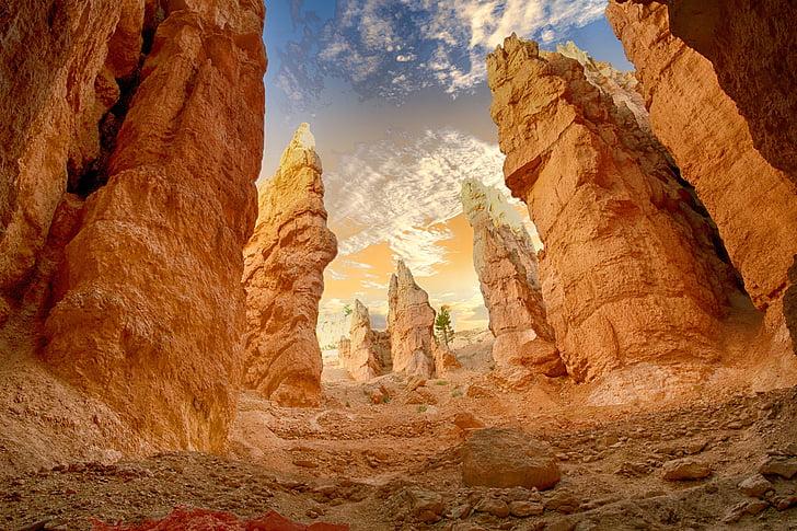 Canyon, öken, landskap, natursköna, Rock, naturen, vildmarken