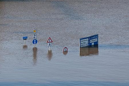 climatique, danger, en cas de catastrophe, environnement, contre les inondations, des inondations, haute
