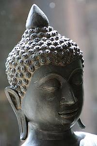 Buddha, obličej, obrázek, Buddhismus, odpočinek, Zen, meditace