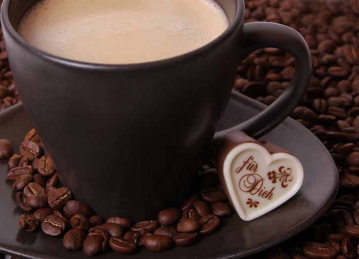 cafè, fesols, grans de cafè, cafè exprés, tassa de cafè, torrat, beneficiar-se de