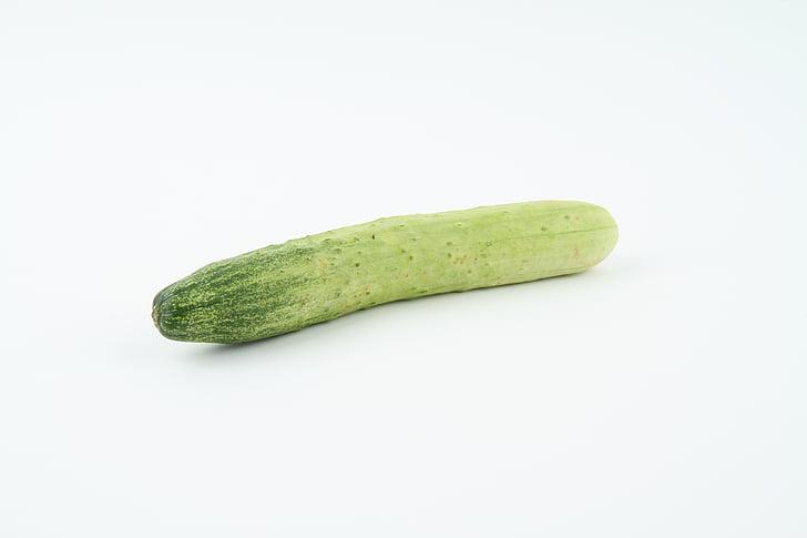 gurka, grönsaker, vegetabiliska, friska, Vegetarisk, färsk, ingrediensen