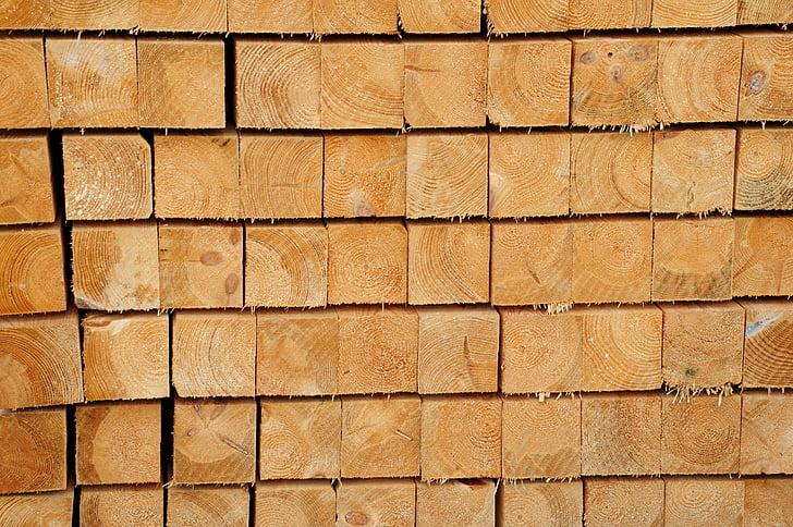 puit, puidu, Baar, puu, metsandus, vaia, kuhjata üles