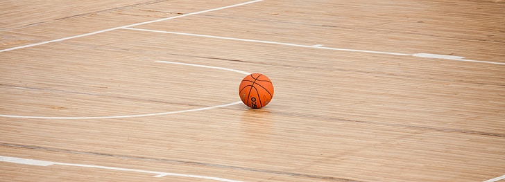 basketball, court, ball, game, sport, floor, arena