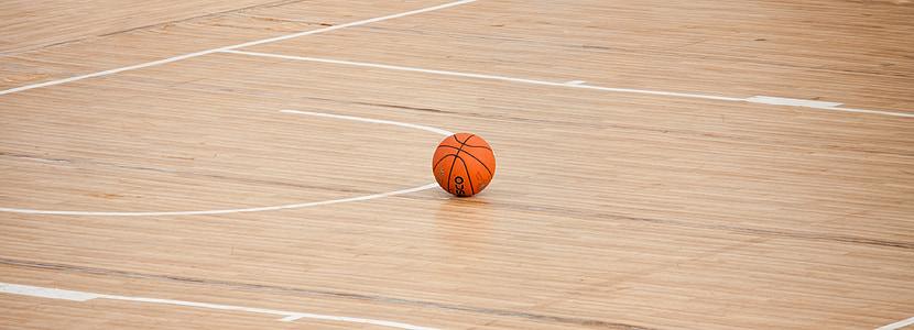 bàsquet, cort, pilota, joc, esport, pis, àmbit
