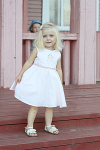 baby, kid, kids, girl, the little girl, blonde, childhood