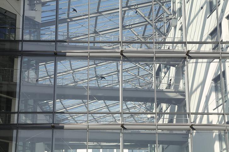 Cologne, Atrium, kaca